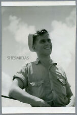 #889 Hot Grinning Sailor Man, Vintage Gay Int Photo