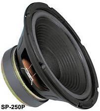 Monacor Stageline SP-250P 25cm Basslautsprecher 200W 94dB/W 8Ohm