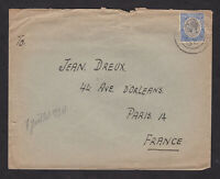 Tanganyika 1930 KGV Cover to France