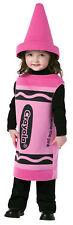 Crayola Tickle Me Pink Child Costume Polyester Tunic Halloween Rasta Imposta