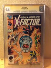 X-FACTOR 6 1st Appearance of Apocalypse CGC SS Signed STAN LEE 9.6