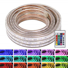 WYZworks LED Rope Lights, 100 ft Waterproof Color Changing Strip Light for & Use