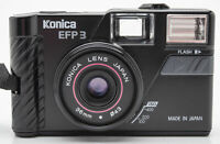 Konica EFP3 Kompaktkamera Kamera - Konica Lens 36mm Optik