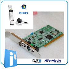 Sintonizzatore PCI TDT Digital HDTV Avermedia Dvb-t M135c Comando Philips MCE