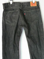 vtg LEVI'S 505 BLACK JEANS Mens Men Denim Pants Levi Strauss
