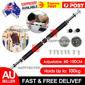 Pull Up Bar Chin Upper Doorway Excercise Fitness Door Body Workout Gym Push Home
