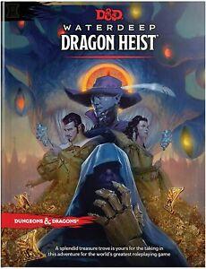 Dungeons & Dragons - Waterdeep Dragon Heist Book   DnD D&D