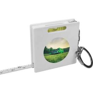 'Combine Harvester' Keyring Tape Measure / Spirit Level Tool (KM00005720)