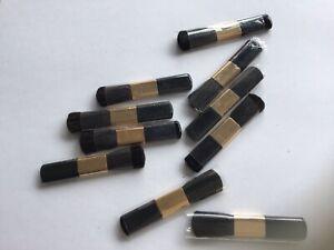 10 x SMALL GLITTER TATTOO BRUSHES LOT MAKEUP COSMETIC MINI BRUSH JOBLOT 52mm