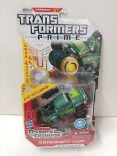 Transformers Prime Sergeant Kup DVD Decepticon Deluxe Class New Hasbro