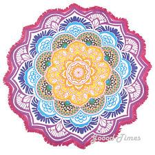 Tapestry Beach Mandala Round Hippie Throw Blanket Towel Mat Indian Picnic Boho