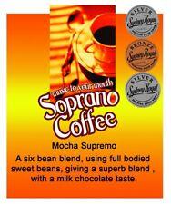 Roasted Coffee Beans Mocha Supremo Soprano Coffee