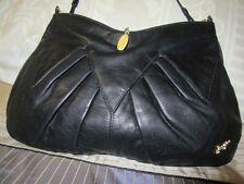 Faigen Leather handbag soft Lambskin  vintage Gorgeous w Original Dust bag SALE