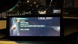 BMW NBT Road Map Update Europe West Next(LATEST) 2021-1 Maps F30 F10 F01 F32 F07
