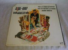 Live And Let Die Soundtrack LP Paul McCartney George Martin Gatefold UA James Bo
