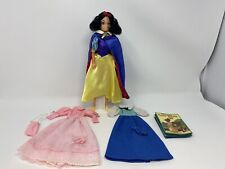 Vintage 1980s Disney SNOW WHITE AND HER FAVORITE DRESSES Doll Bikin
