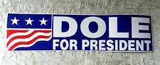 BOB DOLE FOR PRESIDENT  ORIGINAL CAMPAIGN BUMPER STICKER