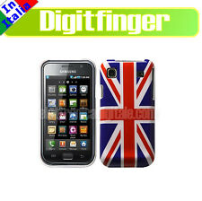 SAMSUNG GALAXY S I9000 Bella CUSTODIA Back Cover BANDIERA Inglese British Flag