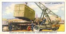 railway equipment series : mobile crane handling container traffic