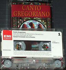 Canto Gregoriano Vol. 2 CASSETTE Coro De Monjes Del Monasterio Benedictino