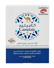 2 X Camelait Al Ain Dairy pure natural camel milk powder 400 gr HALAL ORIGINAL