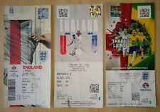 3 football tickets ENGLAND NATIONAL TEAM tickets foot ENGLAND entrance tickets