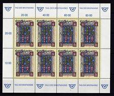 Österreich 1992 postfrisch Kleinbogen  MiNr.  2066  Tag der Briefmarke