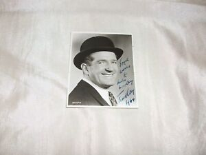 TED RAY ACTOR SIGNED PHOTOGRAPH 1960 S VG CARRY ON TEACHER FILM AUTOGRAPH BOOK