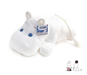 Moomin Stuffed Plush Soft Toy - Hoa Hoa Moomin- Lying Moomin, 16 inch ( 40cm )
