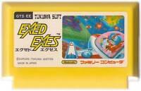 "NINTENDO FAMICOM "" EXED EXES "" SAVAGE BEES NES FC JAPAN"