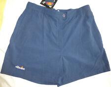 ELLESSE Tennis Golf Running Athletic Shorts, Navy Blue, Size 14, NWT