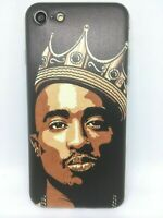 Coque Protection Iphone 7 ou Iphone 8 silicone souple Tupac Shakur 2pac