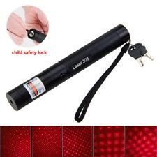 Hohe Energie 1MW 650nm Rot Laserpointer Sichtbar Laserstift Lazer Pen