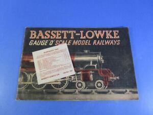 BASSETT-LOWKE CATALOGUE 13TH NOV 1947, NICE EXAMPLE!