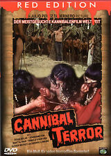 Cannibal Terror , uncut , only german audio , Red Edition , new and sealed