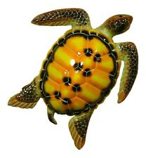 Tropical Sea Turtle Beach Tiki Bar Nursery Kid Decor 8STW11 Yellow Black Spots