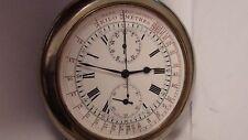 Chronograph Saxonia / Albrecht Költzsch Taschenuhr D. 68,0 mm ! um 1900 RAR !