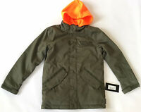 DC Shoes Boys Union 10K Snowboard Jacket Olive Night Winter Youth Size L/12