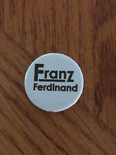 Franz Ferdinand Logo Button White Pin Badge classic logo 1st album