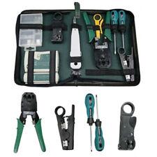 LAN Network Hand Tool Cable Tester Crimp Crimper Plier Kit Cat5 RJ45 RJ11 RJ12