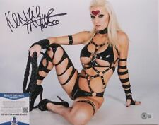 One Man Punch Hand Signed Kenzie Taylor Cosplay 11 x 14  Beckett