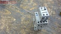 ALLEN-BRADLEY 100-C09Z*10 CONTACTOR WITH 100-F CONTACT, 460 V @ 5 HP 24 VDC COIL