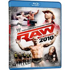 E2 BRAND NEW SEALED WWE - Raw : The Best Of 2010 (Blu-ray, 2011, 2-Disc Set) AUS