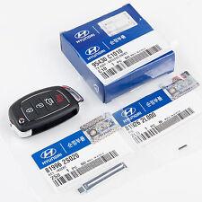 Hyundai Transmitter Key Remote Blade & Pin 3-Piece Kit 15-17 Sonata 95430-C1010