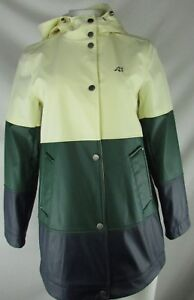 Lucky Brand Women's Full-Zip Snap Up Hooded Jacket *FLAWED*