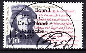 BRD 1991 Mi. Nr. 1555 gestempelt BONN Sonderstempel , mit Gummi (17737)