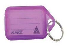 Kevron Key Ring Tags - Purple ID5PUR - Bag of 50 Tags
