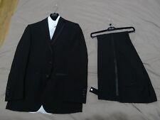 "Tuxedo - Moss Bros - Trousers 32"" x 32""; Jacket & Shirt 36"" x 37"" x 14.5"""