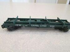 Lionel Helium flat car 3362