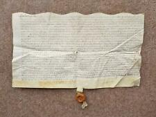 More details for 1579 rushall staffordshire 16th century elizabethan vellum deed indenture